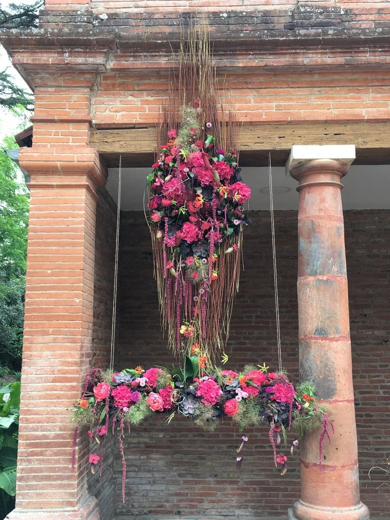 workshop grand décors toulouse par pétales de rose fleuriste à la tour d'aigues